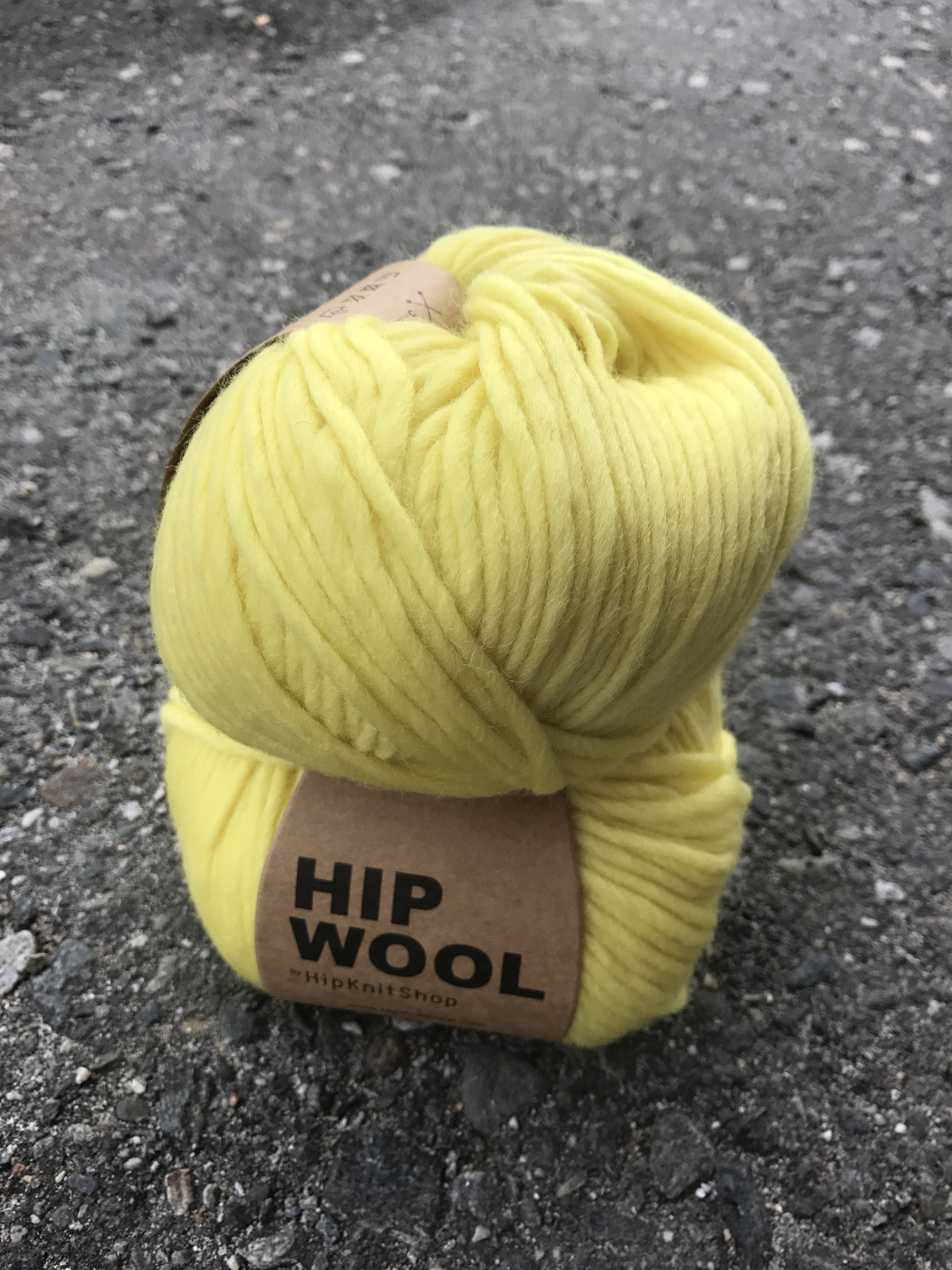 Hip Wool - Summer vibes yellow