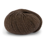 Pure Eco Wool - Brunmelert 1207