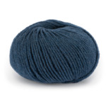 Pure Eco Wool - Indigoblå 1208