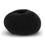Superfine Merino Wool - Svart 301